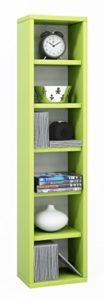 DVD Aufbewahrung ♥ DVD Möbel ♥ Holzstruktur-Nachbildung ♥ Grün