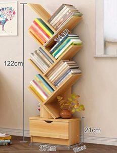 Baum Bücherregal ♥ BÜCHERREGAL SCHMAL HOCH ♥ Holz ♥ Natur