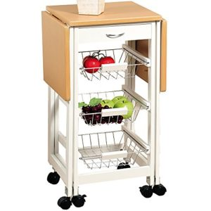 Küchenwagen - das kleine schmale Regal in der Küche